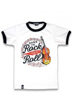 Tee shirt enfant rockabilly