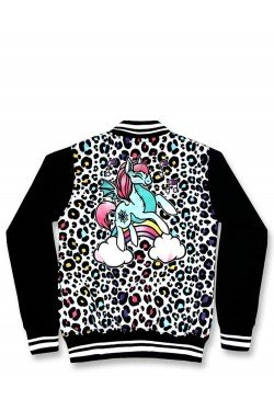 Veste leopard enfant