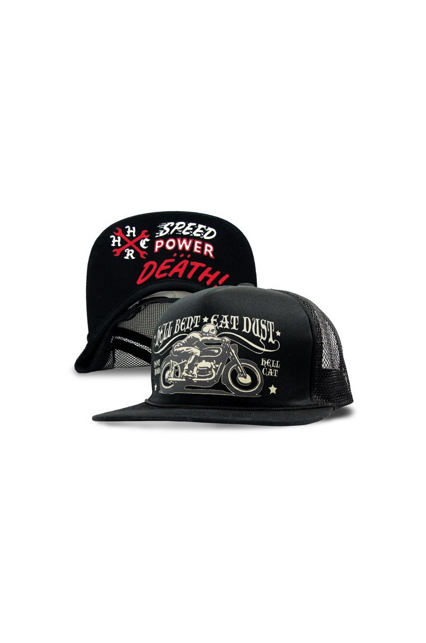 Casquette biker eat dust