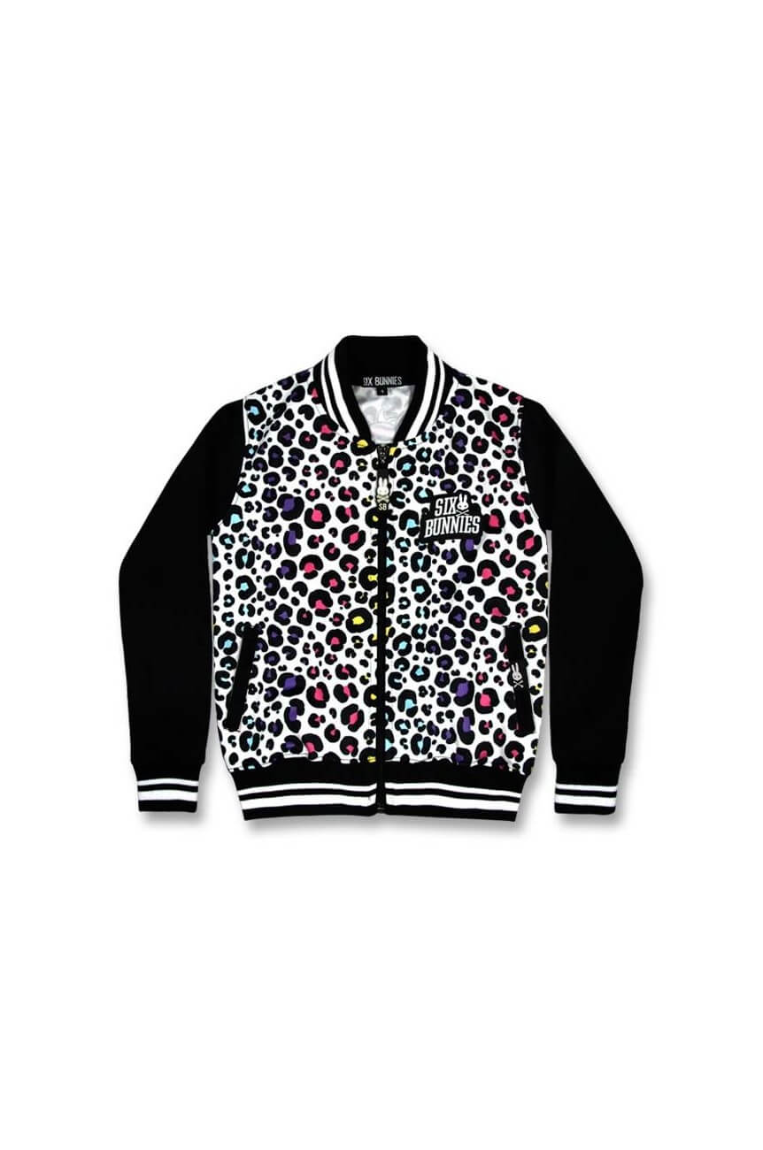 Veste leopard rock enfant