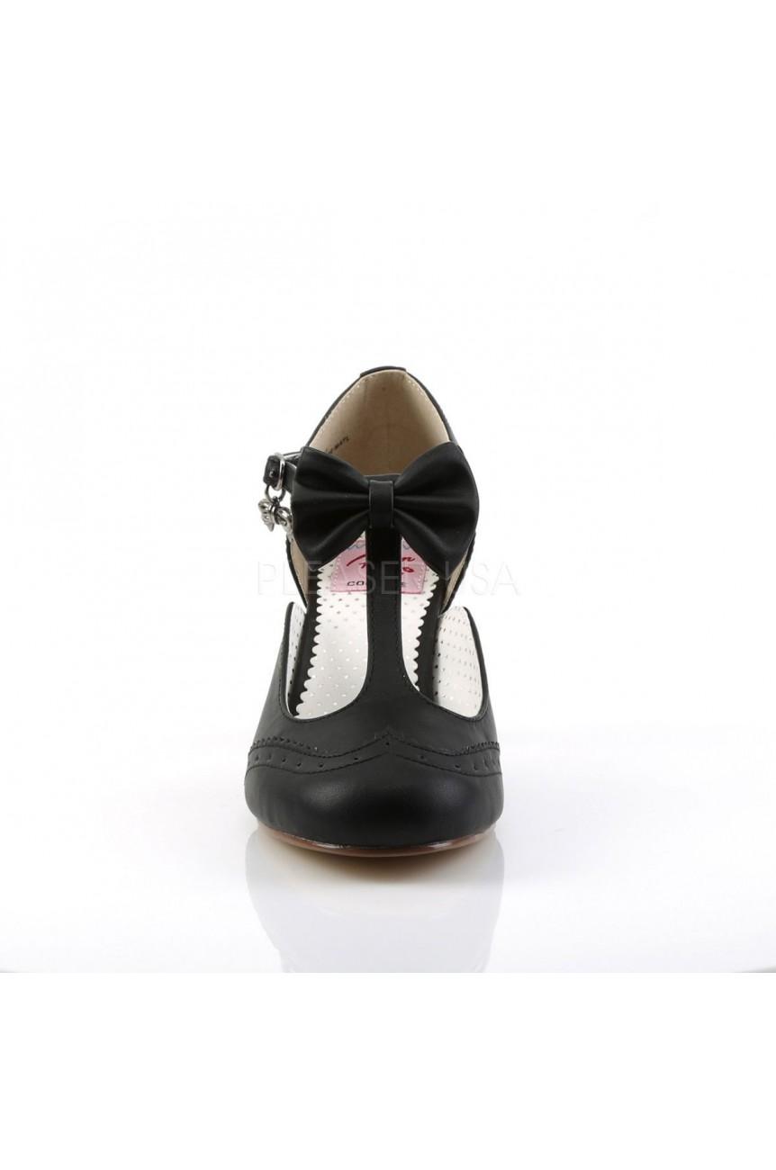 Chaussures vintage flapper 11 noire