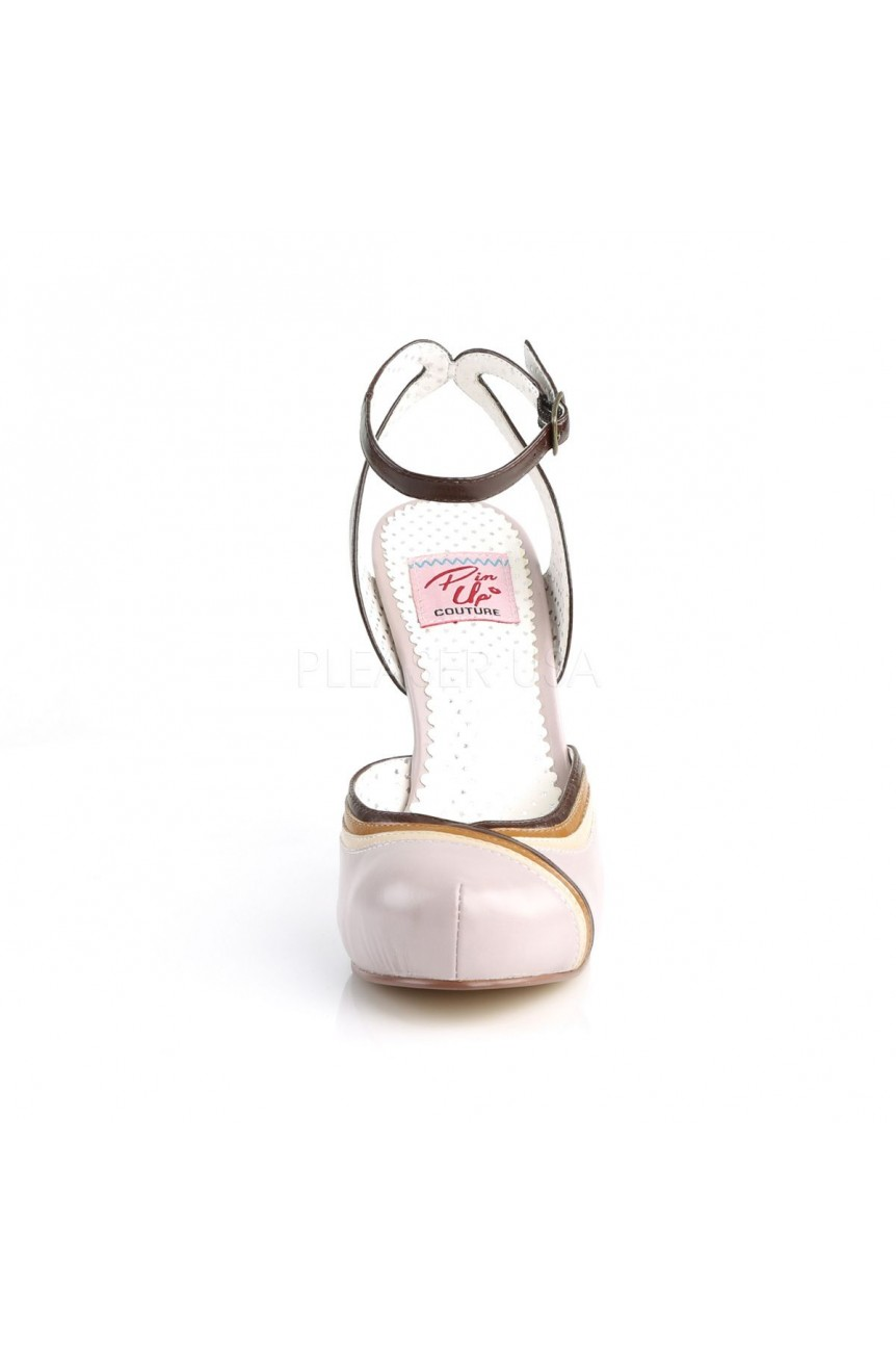 Chaussure pinup rose