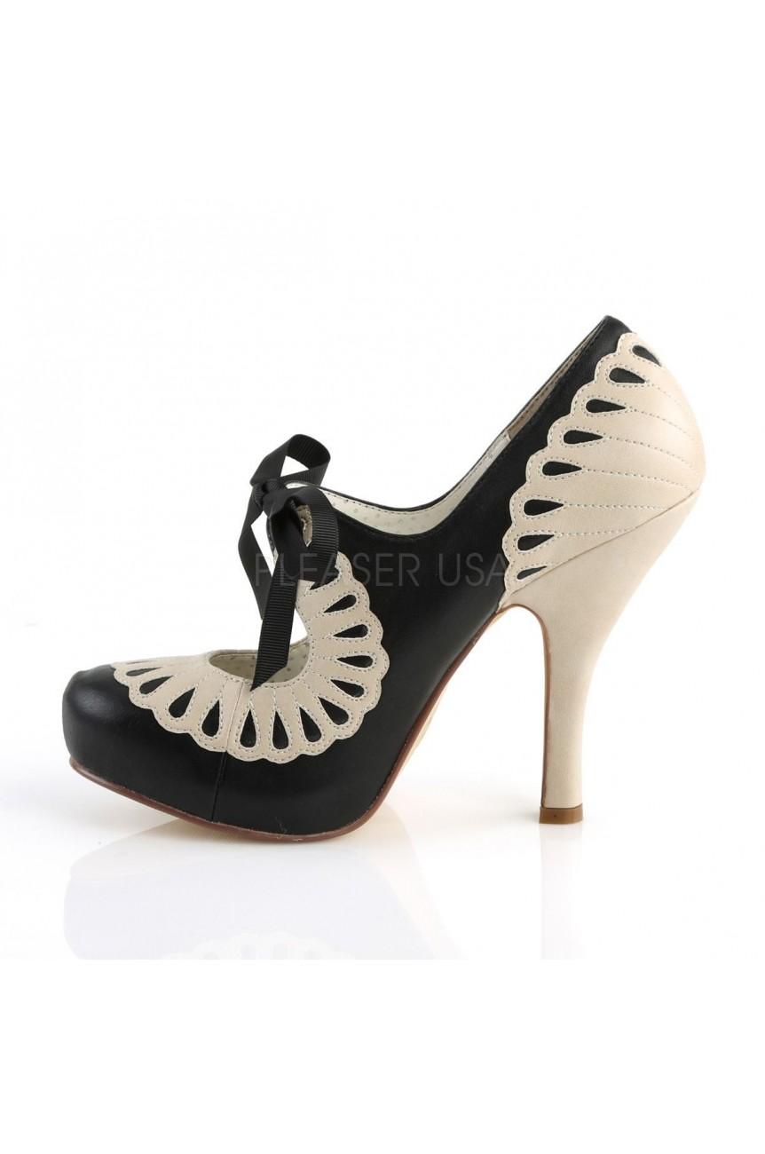Chaussure pin up cutiepie 05 ecru