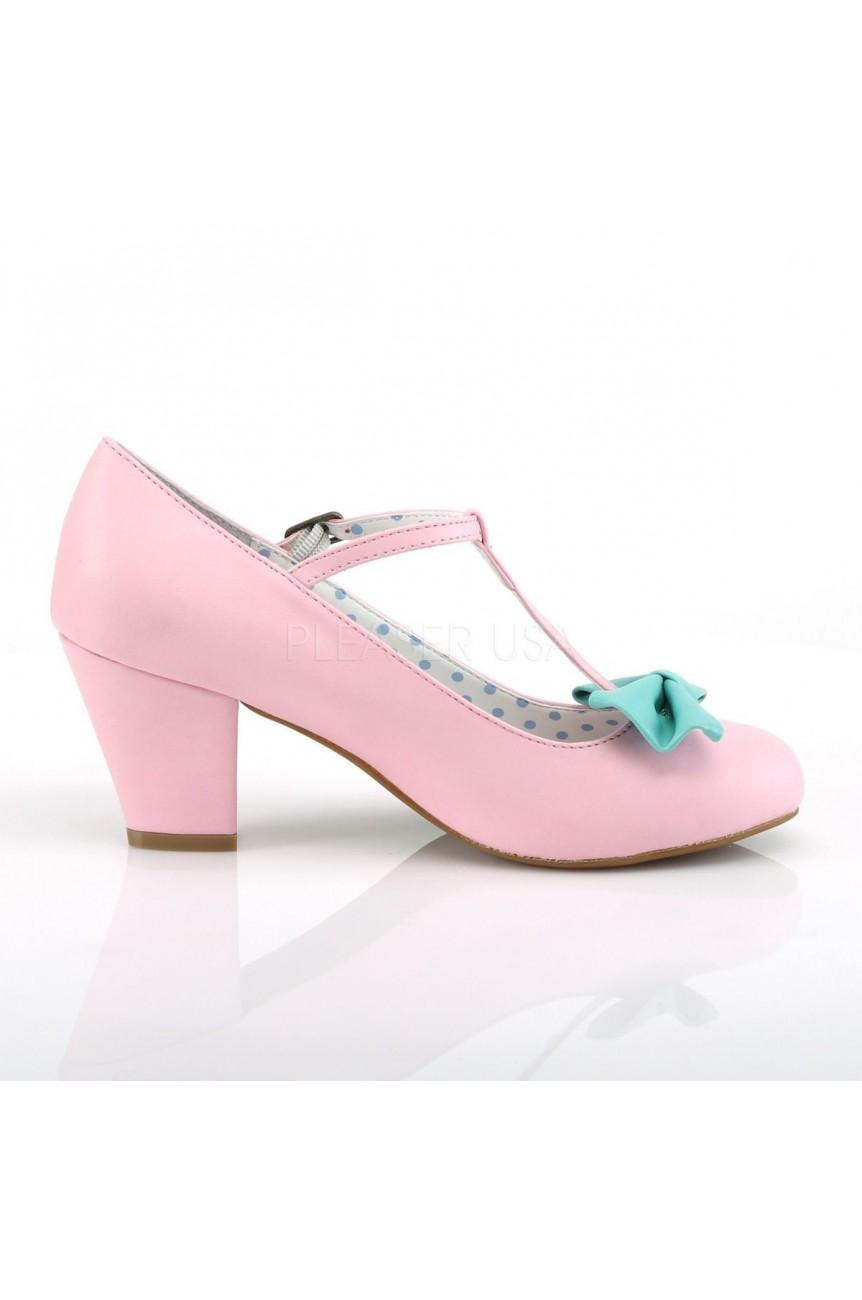 Chaussures retro rose