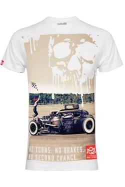 Tee shirt drag rod race