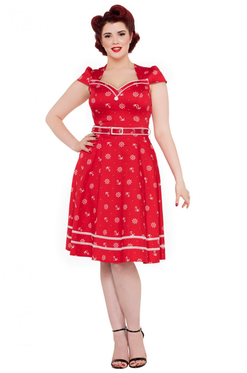 Robe rouge sailor