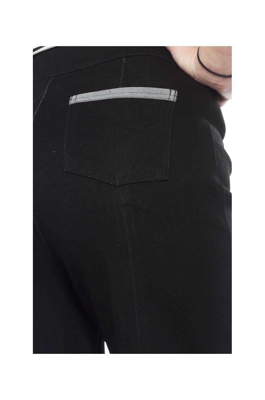 Pantalon pinup noir taille haute sourpuss
