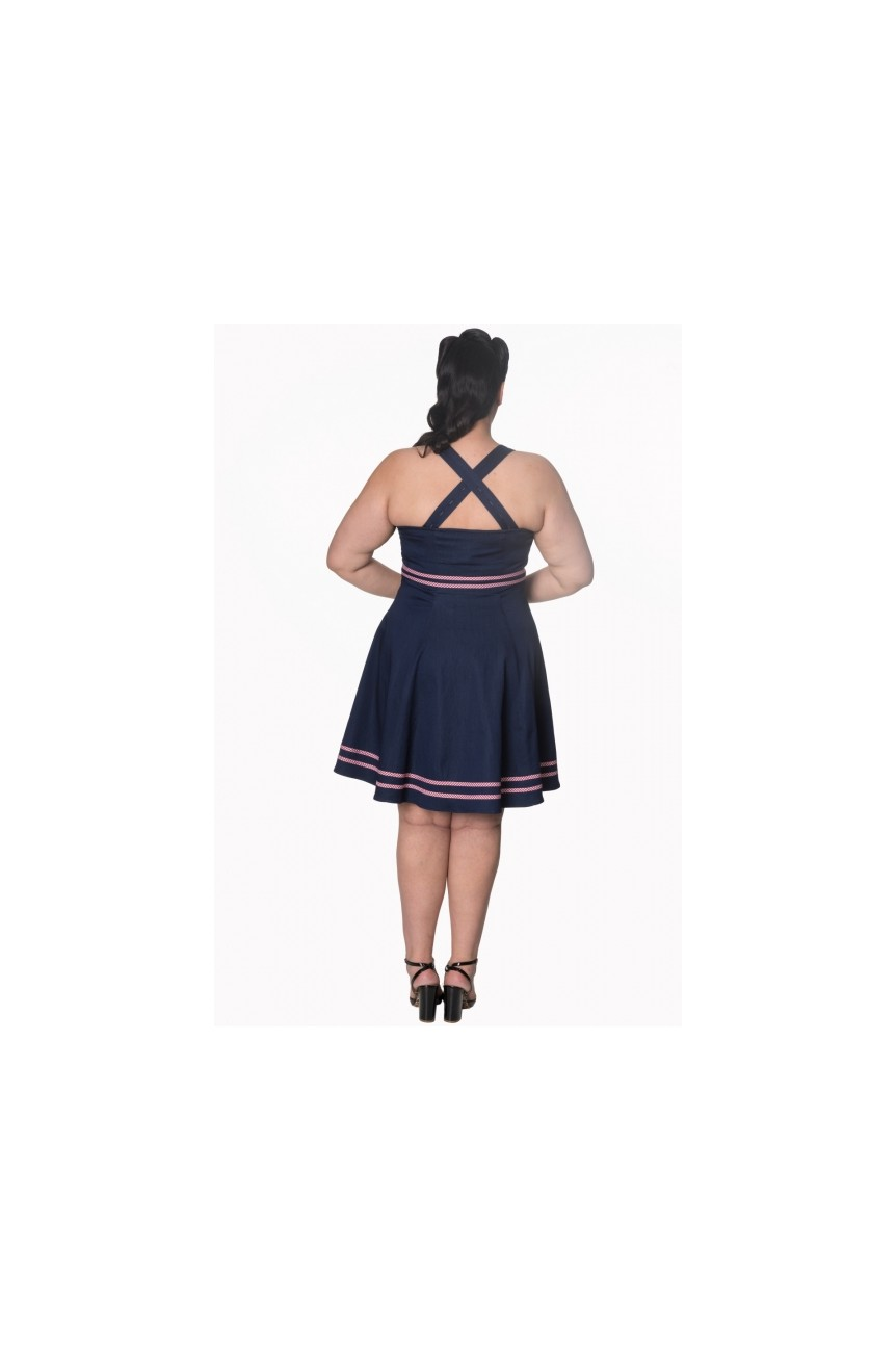 Robe pinup grande taille