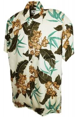 Chemise Hawaiienne fleurie McQueen