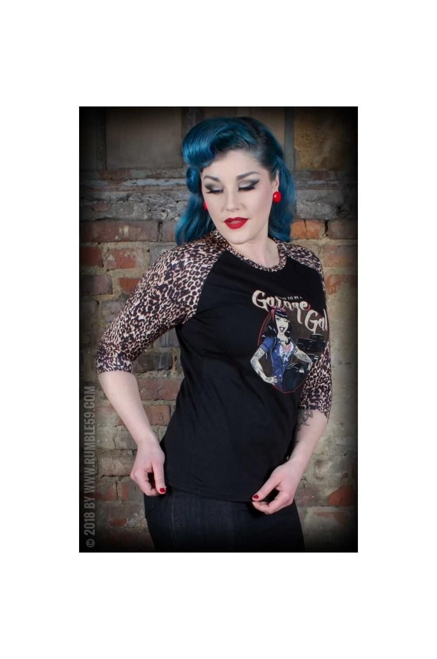 Tee shirt rockabilly femme rumble59