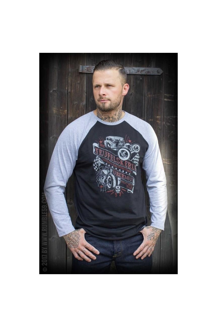 Tee shirt raglant homme custom Rumble59