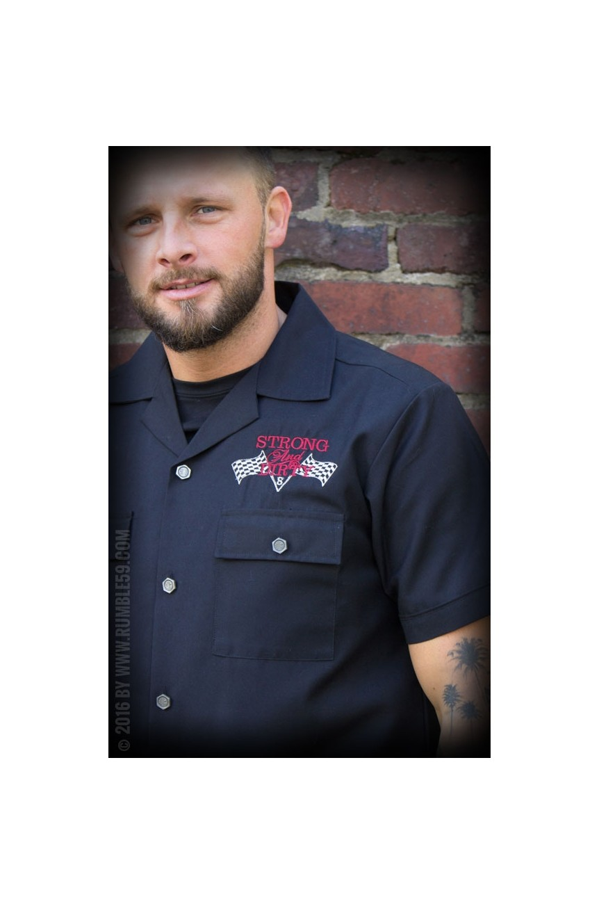 Chemise hot rod greaser