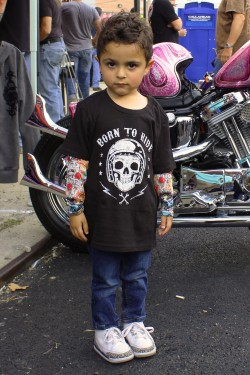 Tee shirt enfant born to ride