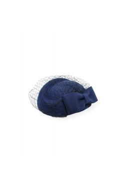 Chapeau vintage bleu