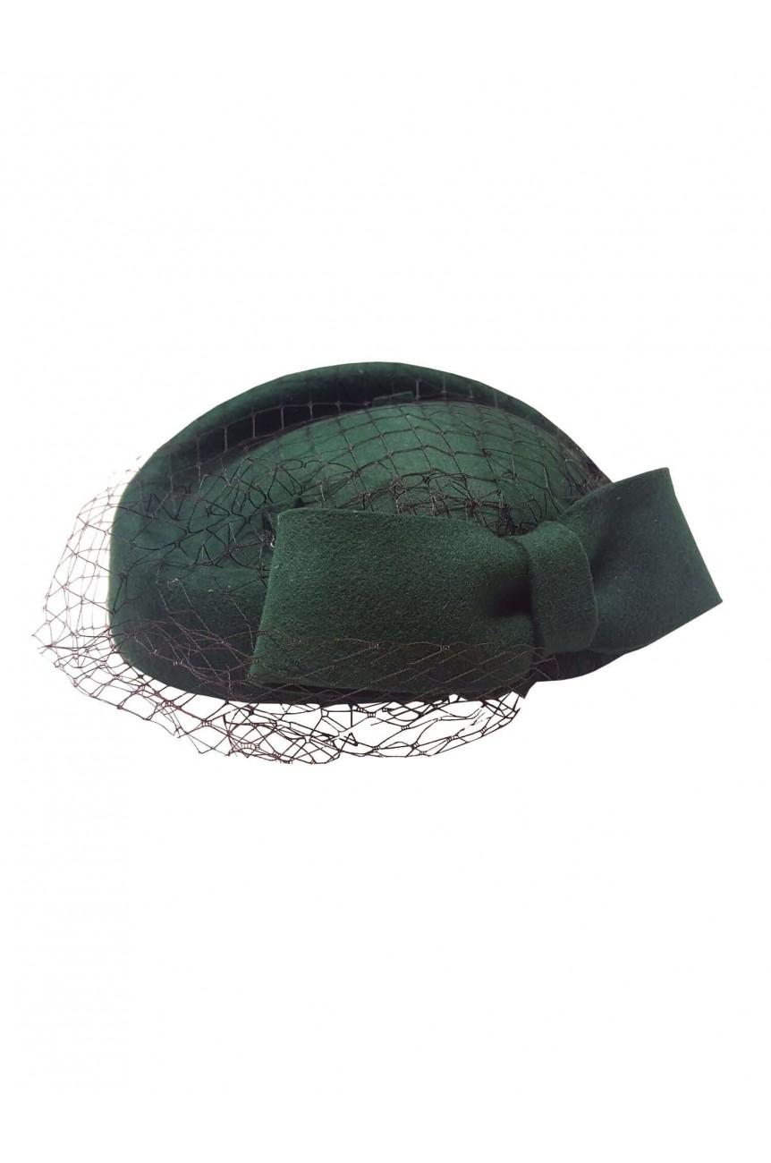 Chapeau vintage vert