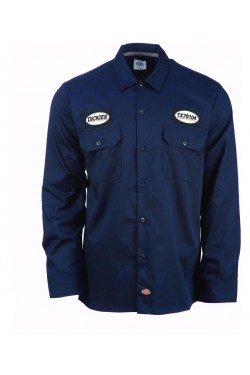 Chemise dickies bleue manches longues dickies 1922