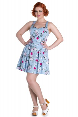 Robe hell bunny pin up fleurie