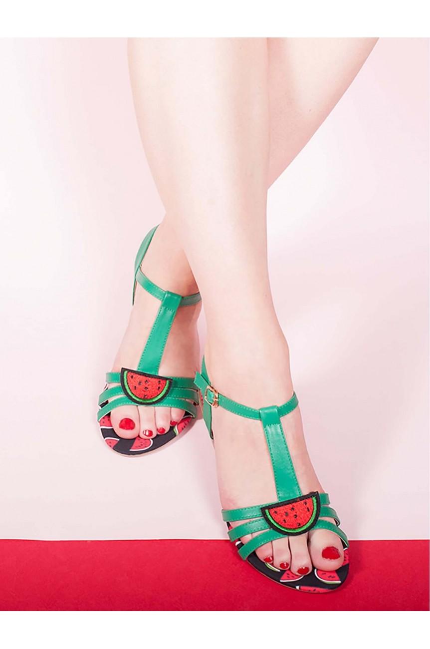 Sandales Lulu Hun pasteque