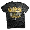 Tee shirt green hot rod gas monkey garage