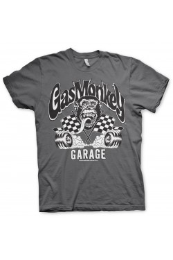 Tee shirt gas monkey garage burning wheels