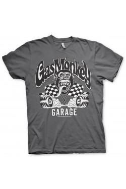 Tee shirt gas monkey garage burning wheels