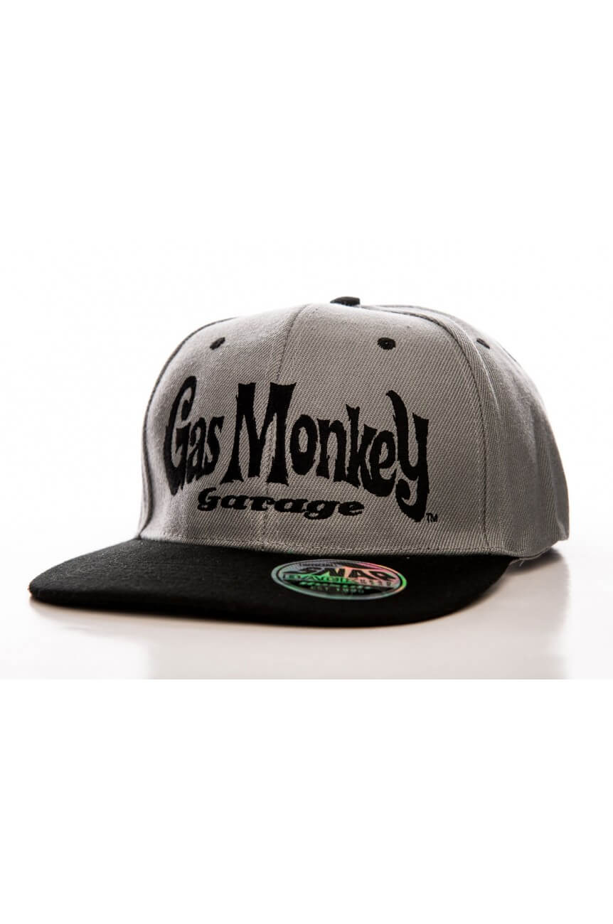 Snapback gas monkey logo