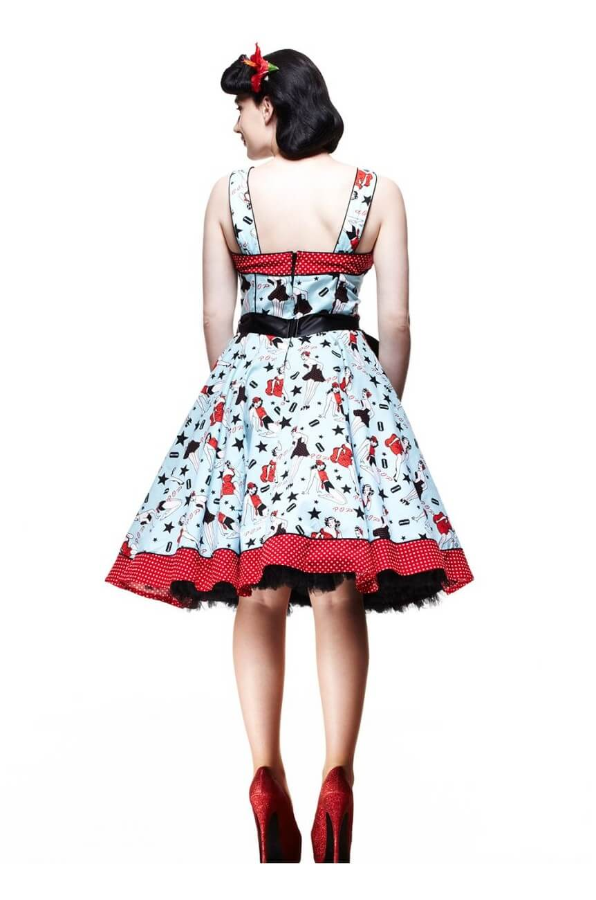 Robe rockabilly pinup Hell bunny