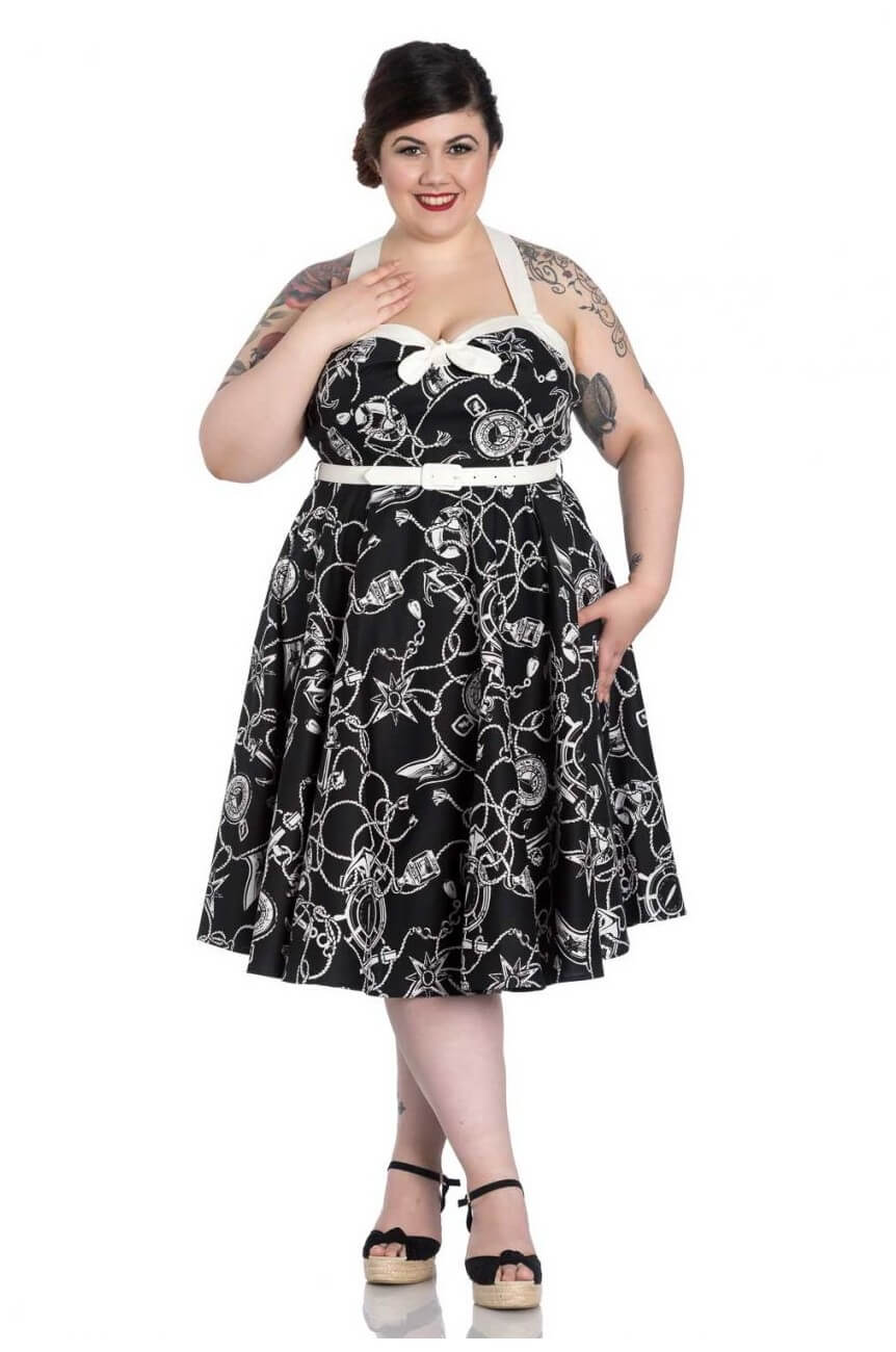 Robe grande taille hell bunny