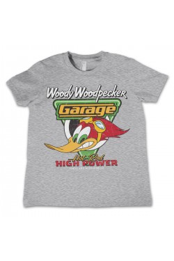 Tee shirt woody woodpecker garage