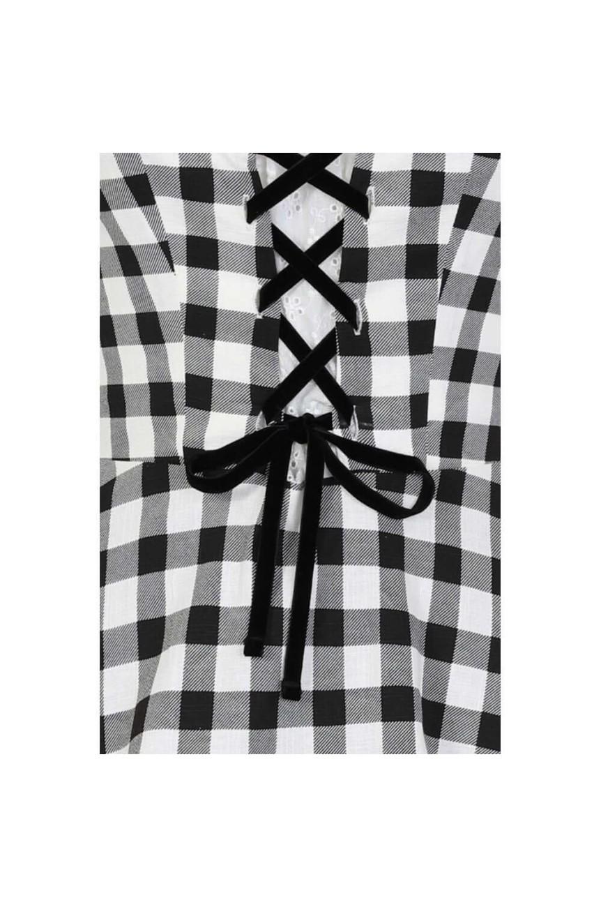Robe Vichy pinup vintage