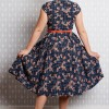Robe style pinup annee50