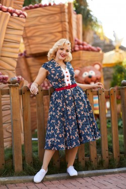 Robe vintage florale miss candyfloss