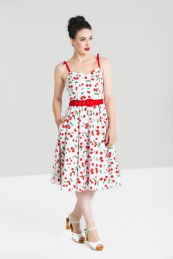 Robe rockabilly pin up cerises