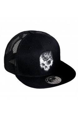 Casquette skull Hyraw clothing