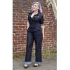 Combinaison en jean femme