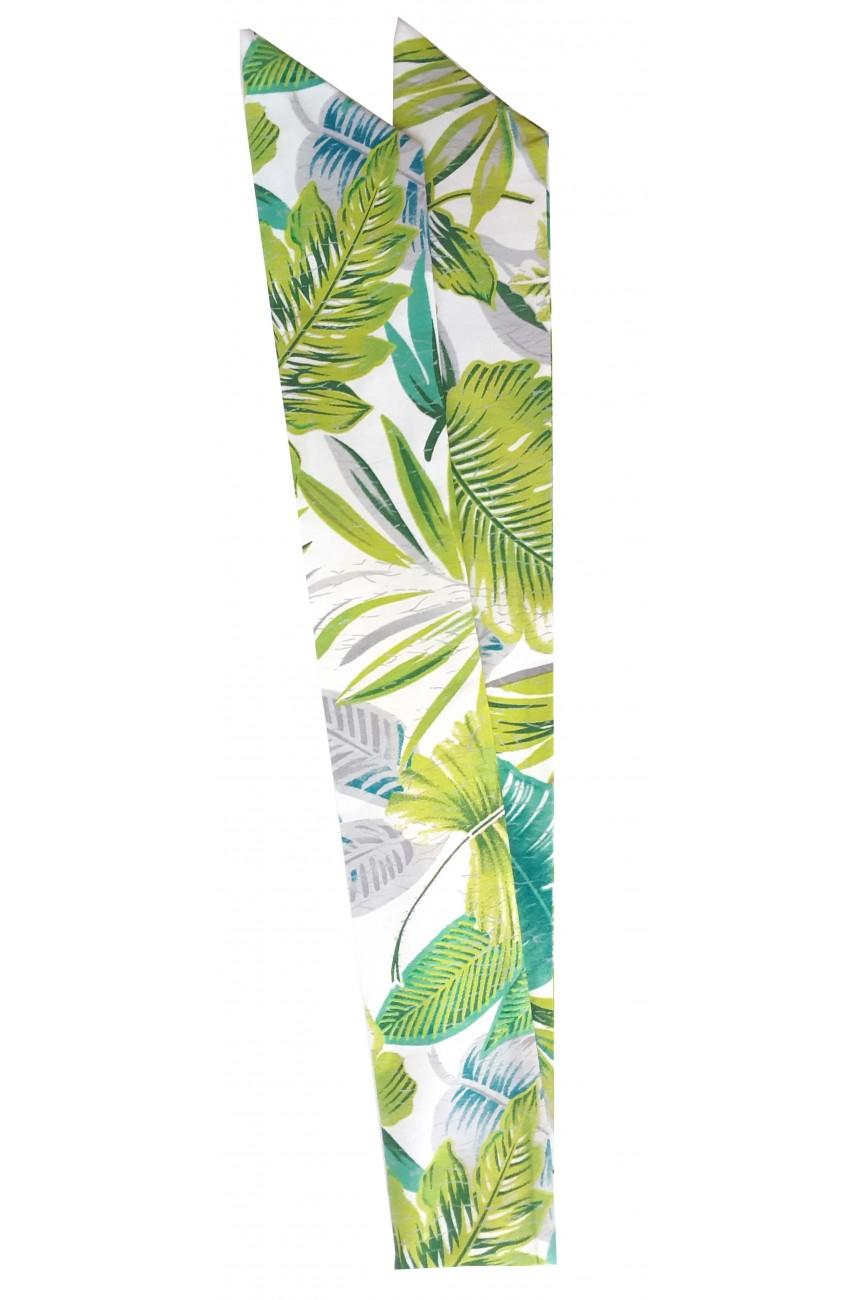 Bandeau cheveux motif tropicaux