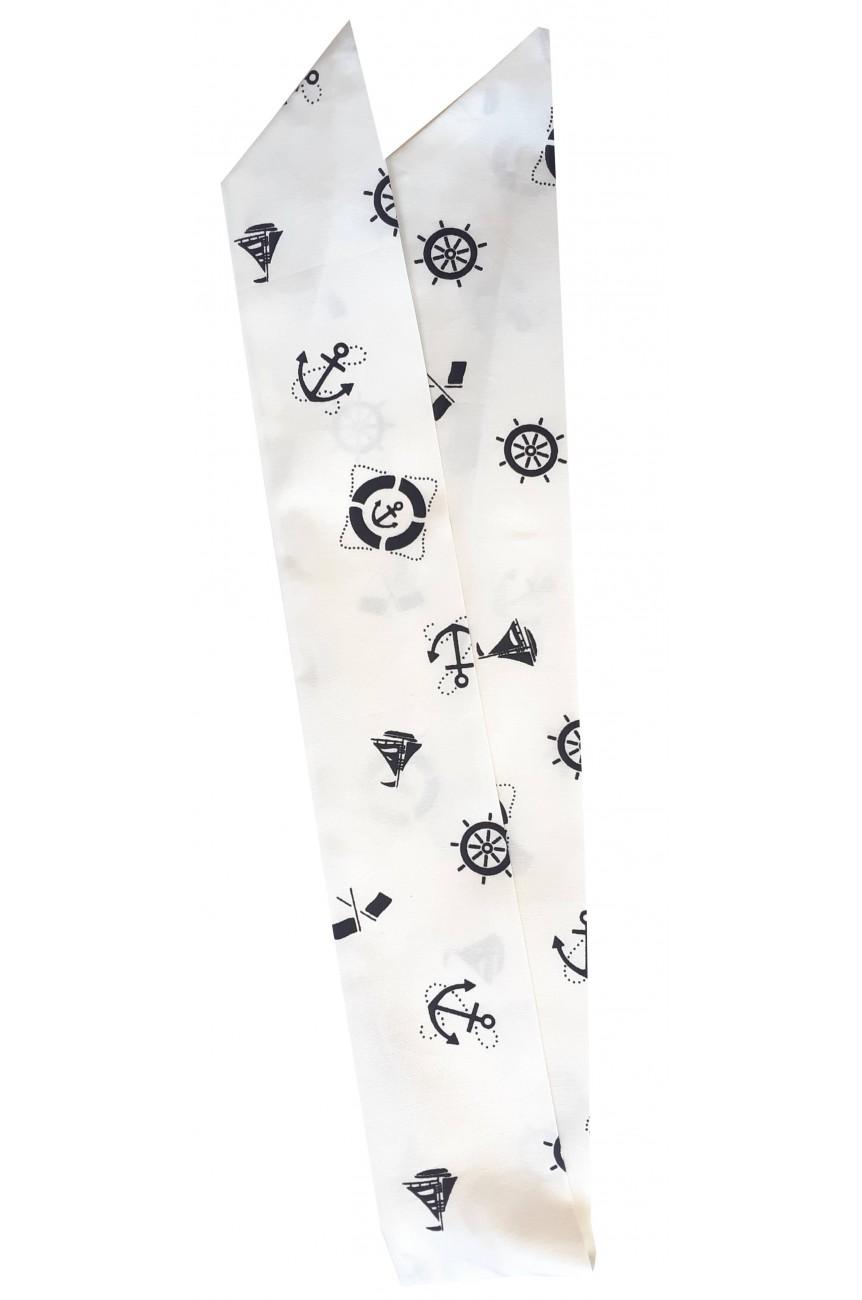 Bandeau pour cheveux imprimé nautique