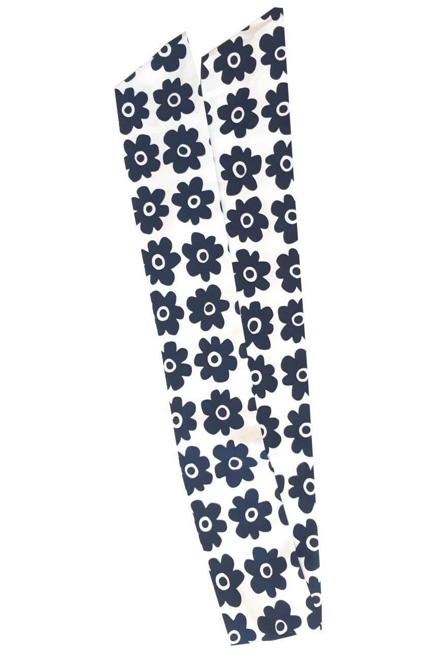 Bandeau pour cheveux à fleurs bleues