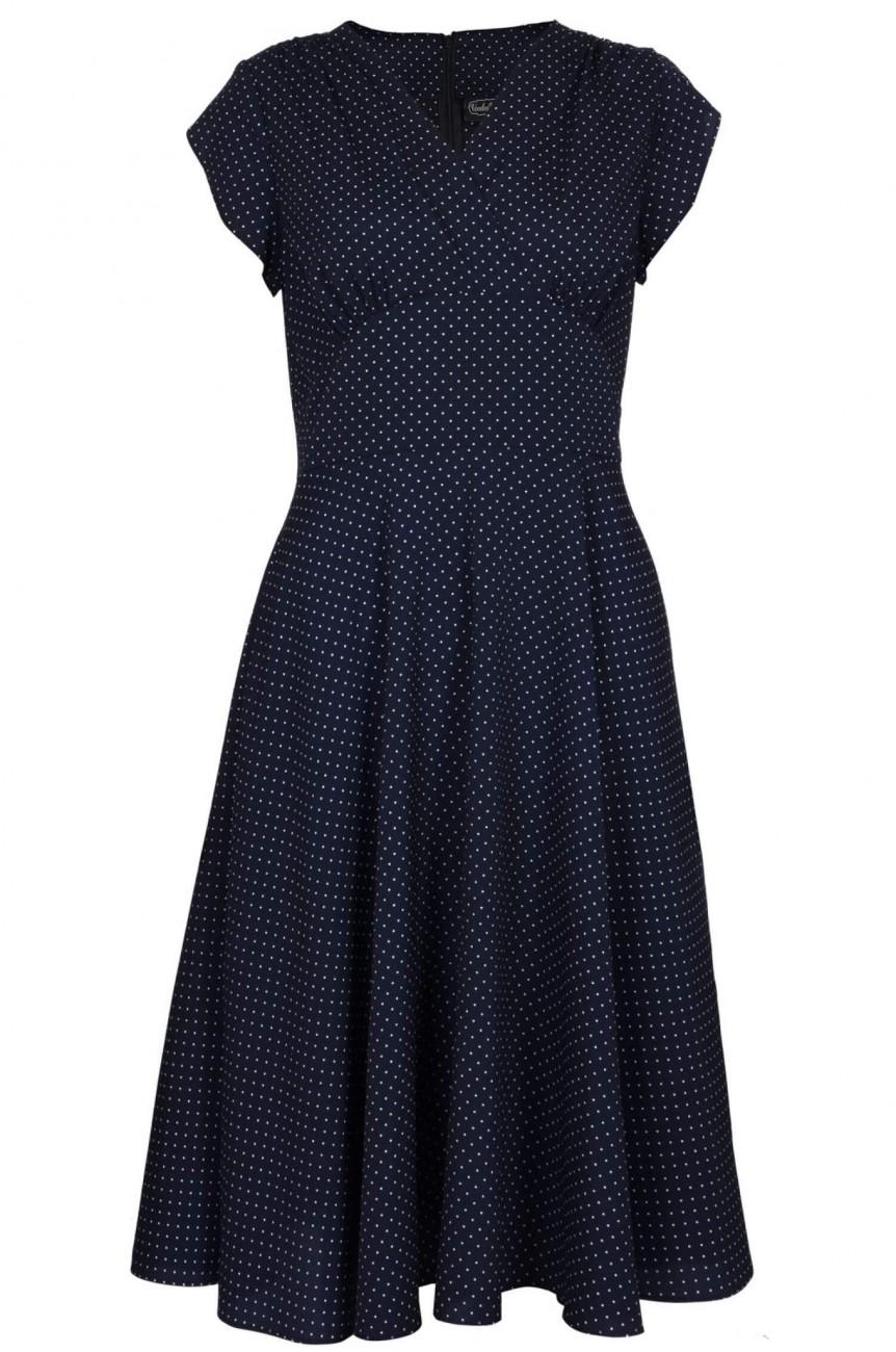 Robe années 40 vintage