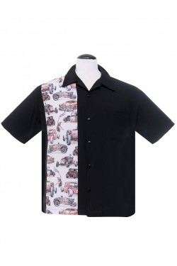 Chemise hot rods et voiture americaines
