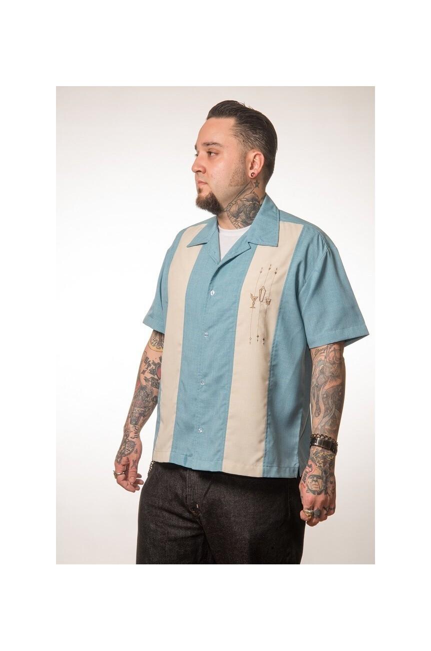Chemise annee50 rockabilly steady clothing