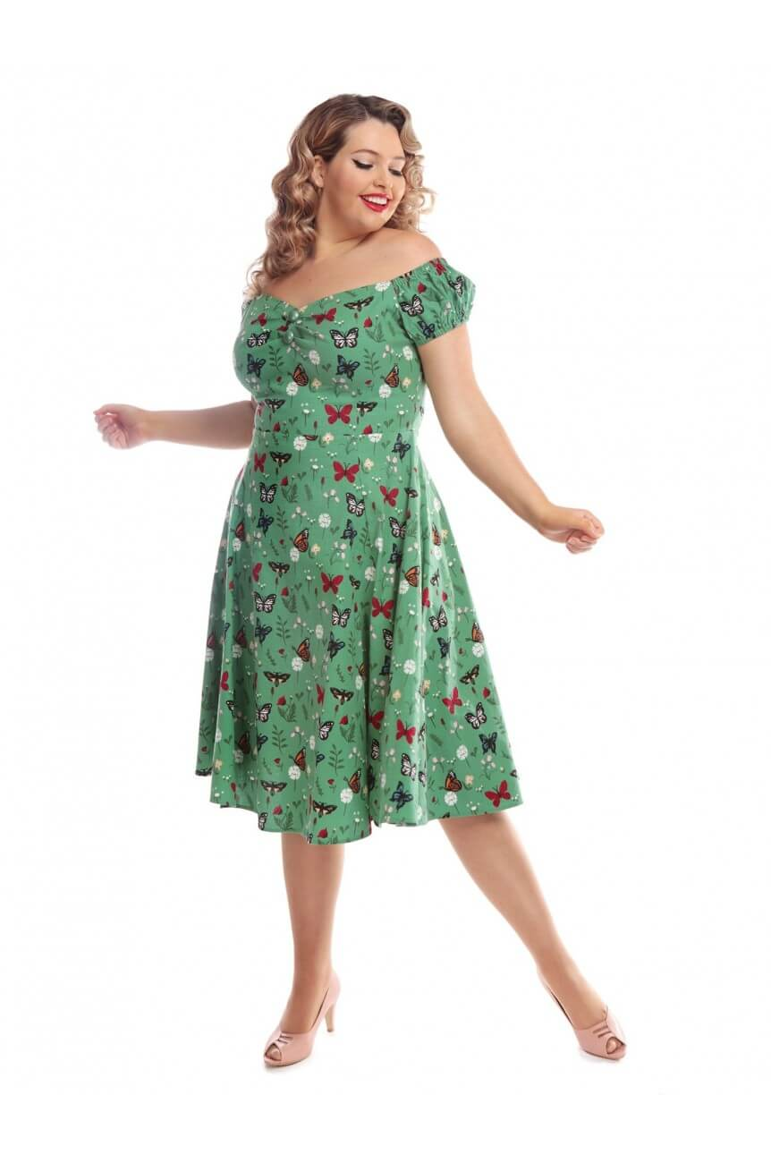 Robe papillons dolores