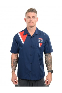 Chemise route 66 made in USA