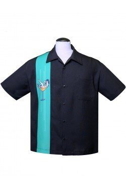 Chemise rockabilly pin-up homme