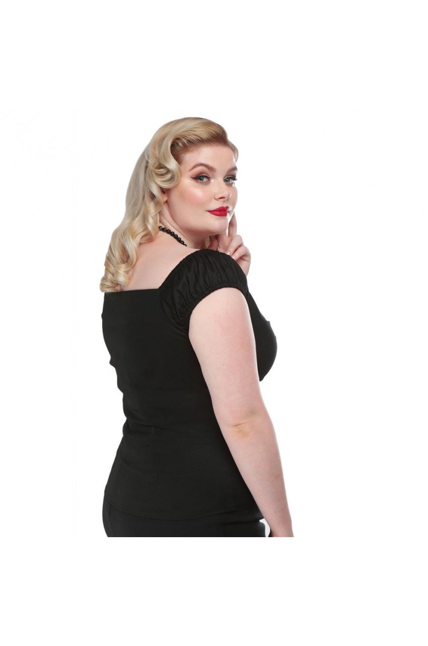Haut pin up grande taille