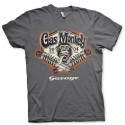 Tees shirt homme gas monkey garage gris