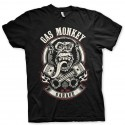 Tee shirt gas monkey garage pistons et flames