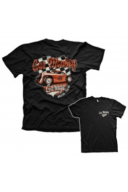 Tee shirt gas monkey garage racing