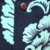 Chemise hawïenne bicolore