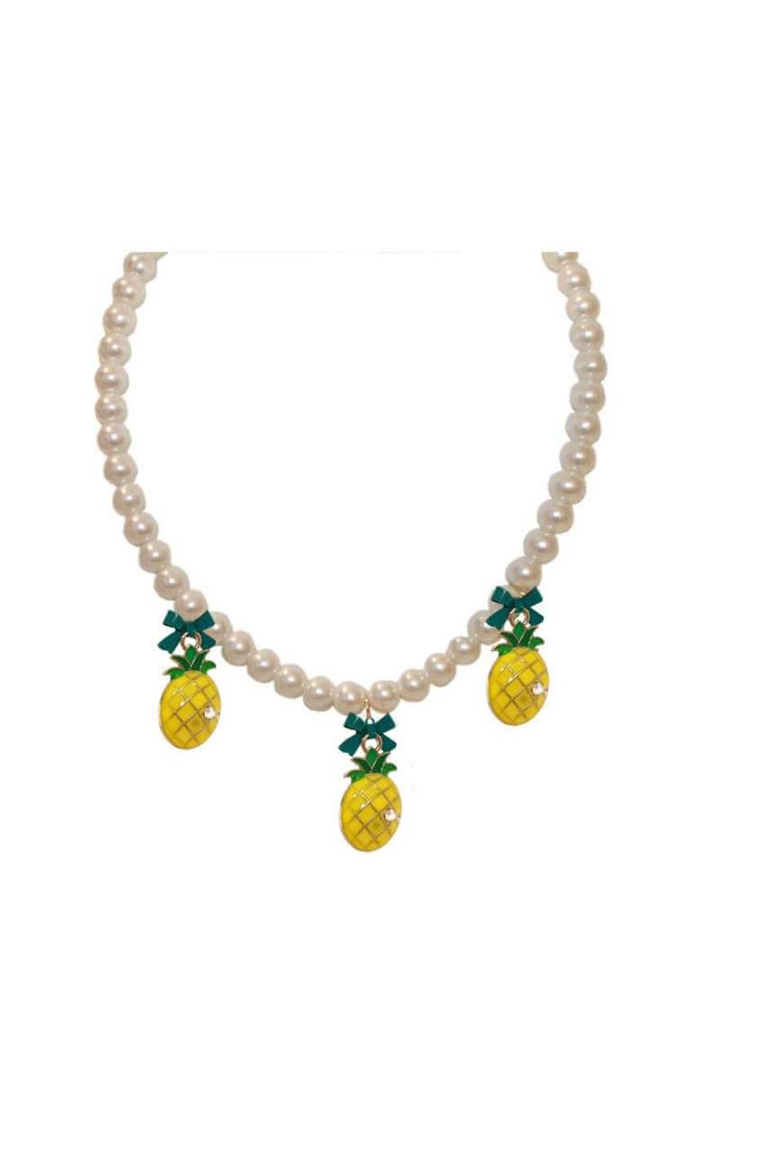 Collier vintage ananas